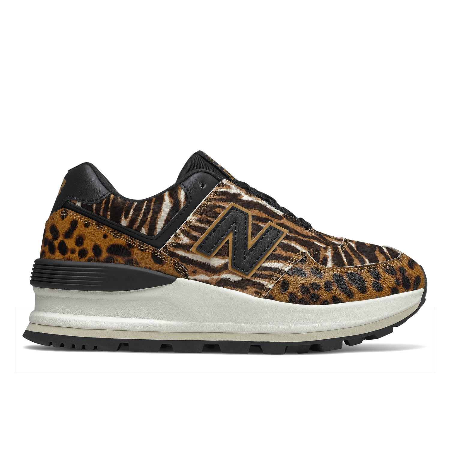 New Balance 574 EMISSIONS sneakers woman leopard