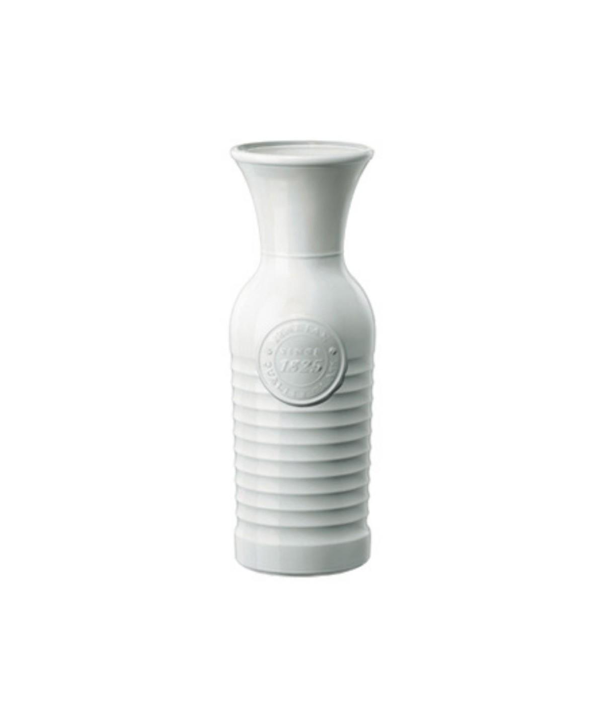 Caraffa in ceramica bianca officina - Bormioli