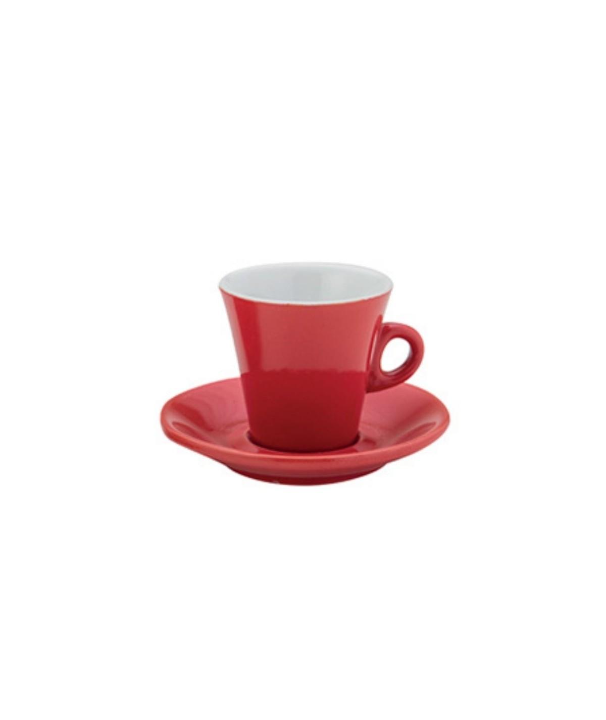 Tazze da colazione rosse...