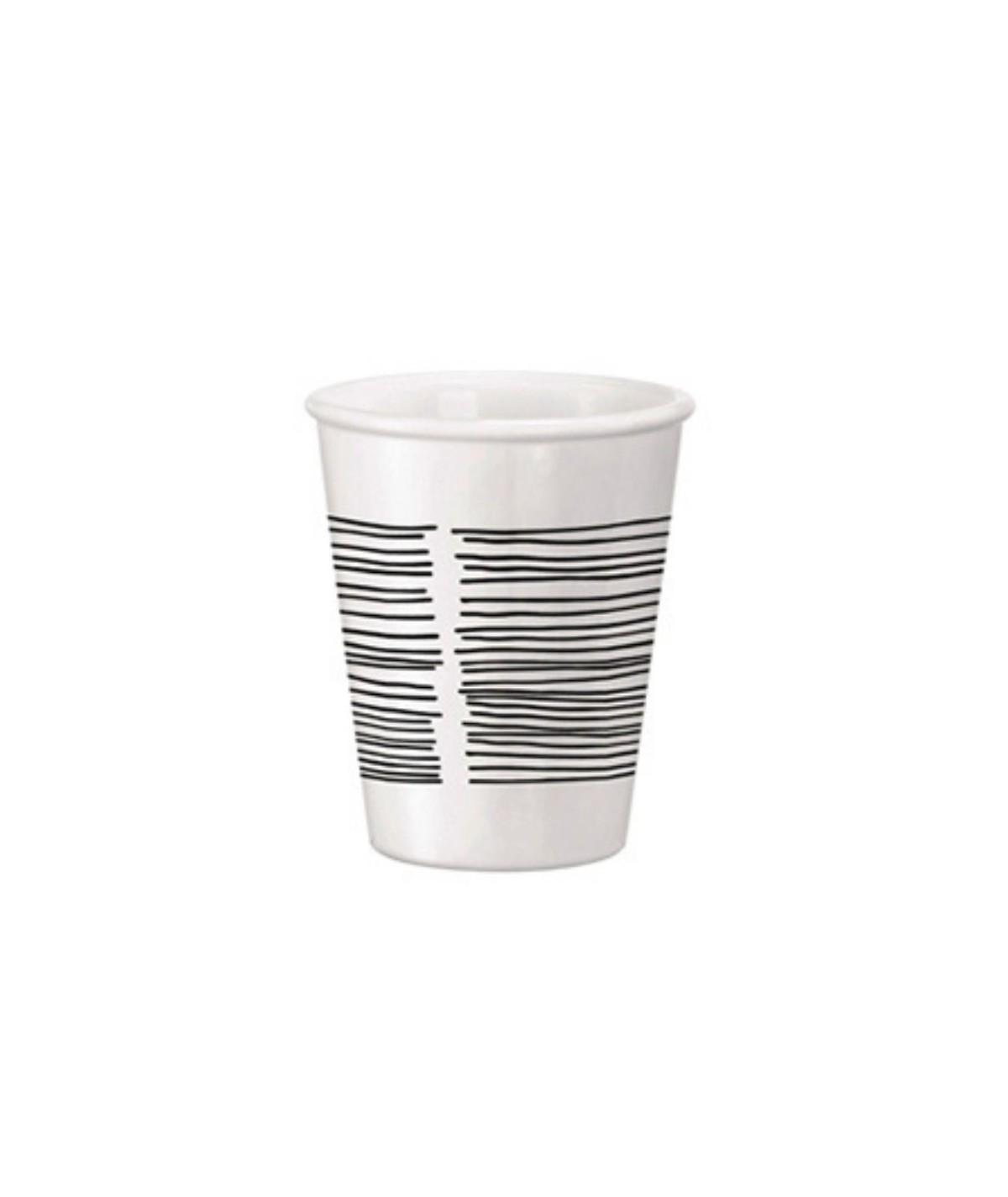 Bicchieri da thè bianchi in opalino Aromateca - Bormioli