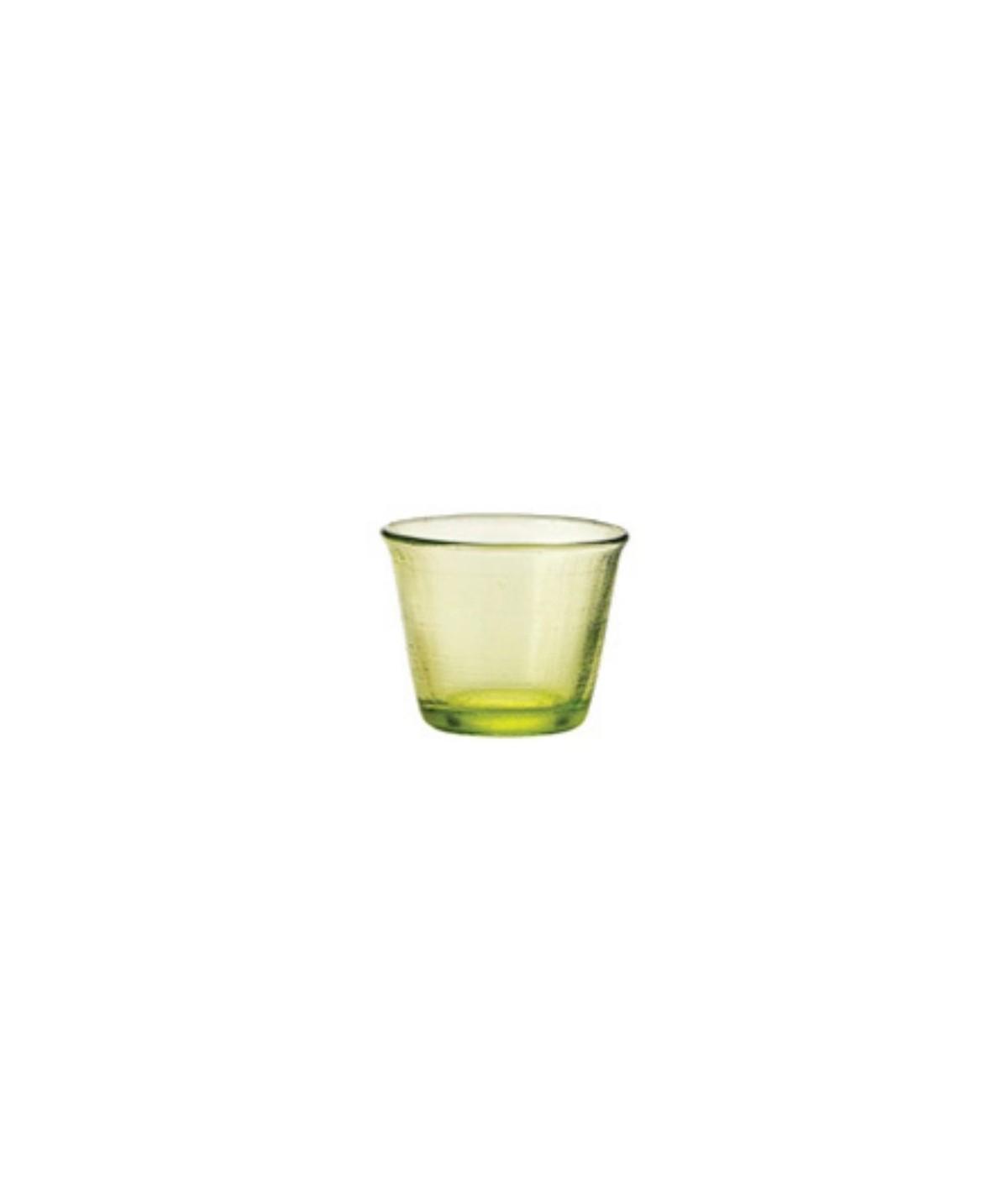 Bicchiere verde in vetro Denim set 6 pezzi - Every Day