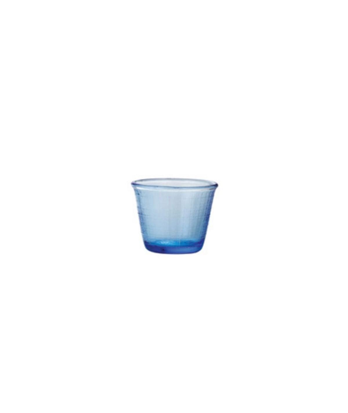 Bicchiere blu in vetro Denim set 6 pezzi - Every Day