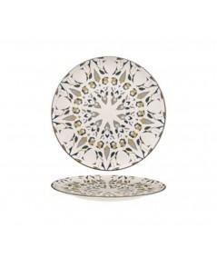 Piatto frutta in porcellana Amalfi set 6 pezzi - Morini