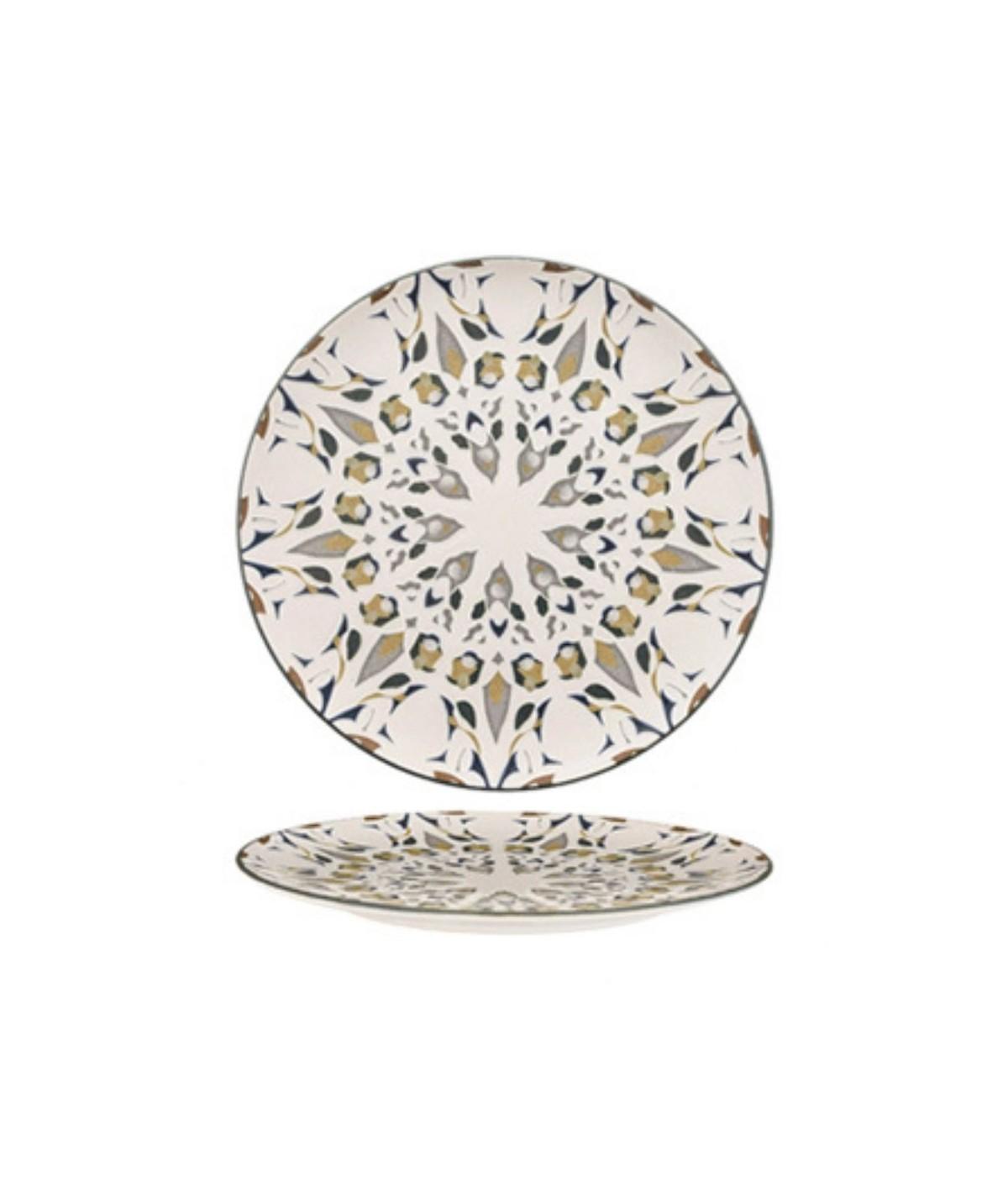 Piatto piano in porcellana Amalfi set 6 pezzi- Morini