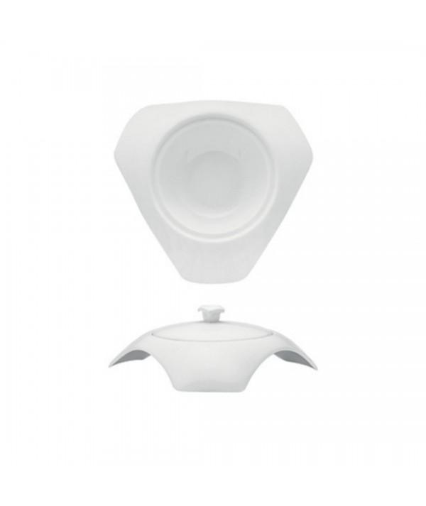 Porta parmigiano in porcellana bianca Cloche - Morini