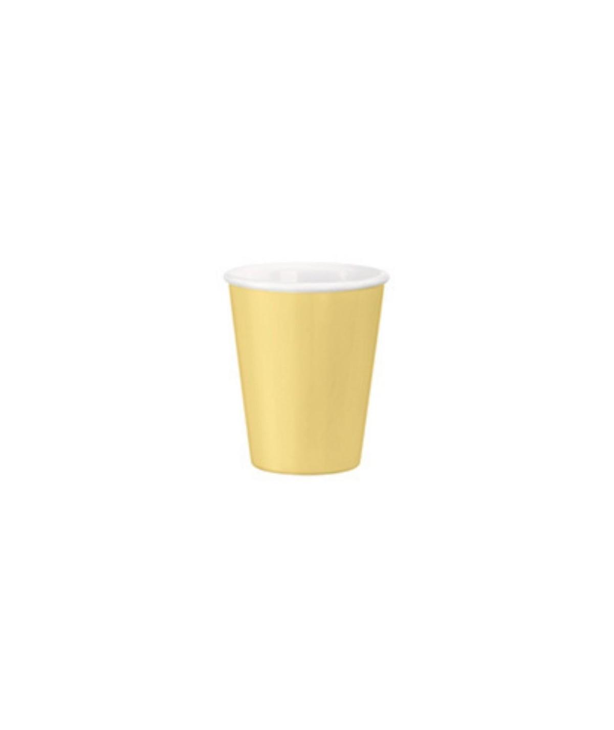 Bicchieri  da thè gialli...