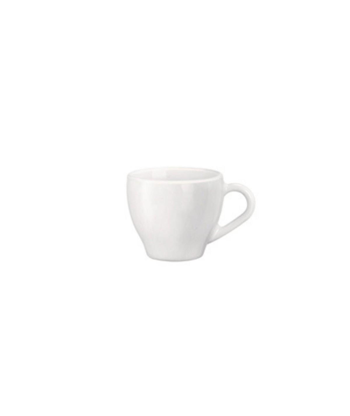 Tazzina bianca caffè...