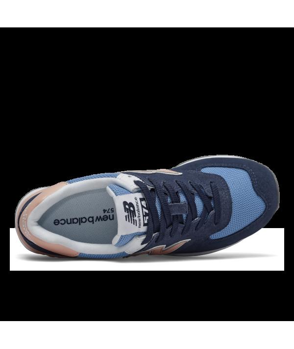 finest selection cbbca 881c8 New Balance 574 WND-Sneaker damen blau rosa
